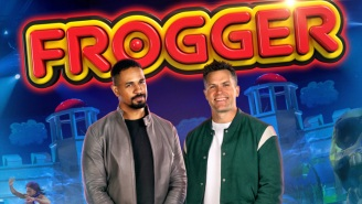 'Frogger' Looks Completely Bonkers In Peacock's Trailer For The Competition Show Inspired By The 1980s Game