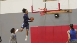 Ja Morant Threw Down An Outrageous Windmill Alley-Oop In A Star-Studded Pickup Game