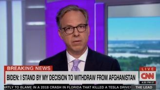Jake Tapper Is Unimpressed By Biden's 'Finger-Pointing And Blame' Over U.S. Troops' 'Catastrophic' Exit From Afghanistan