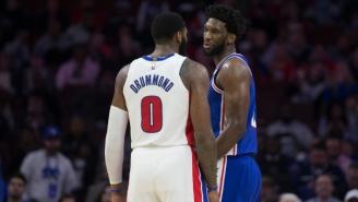 Andre Drummond On Teaming Up With Joel Embiid: 'For Me There Was Never Any Real Beef'