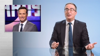 John Oliver Isn't Terribly Impressed By New 'Jeopardy!' Host Mike Richards Either