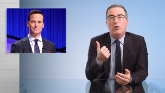 John Oliver Gave Ousted 'Jeopardy!' Host Mike Richards A Final Kick Following His Swift Resignation