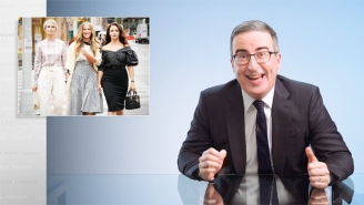 John Oliver's Not Afraid To Give His Blunt Prediction About The 'Sex And The City' Revival