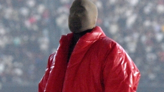 Yeezy Fans Can Now Buy A Red Jacket Like The One He Wore At The First 'Donda' Listening