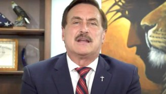 Mike Lindell Was Asked Why God Would Let Trump Be Booted From The White House — His Answer Was Not Convincing