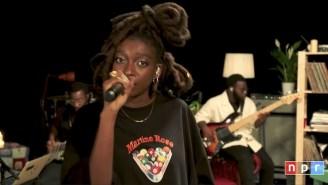 Little Simz Delves Into Afropop In A Cozy Tiny Desk Concert
