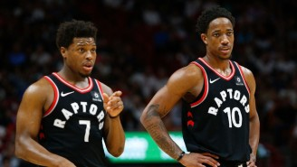 Report: The Heat Want To Reunite Kyle Lowry With DeMar DeRozan