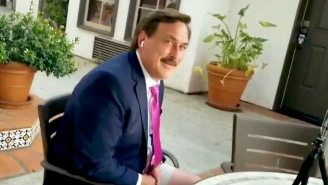 Mike Lindell Got Trolled By A Heckler During A Live Interview That He Bizarrely Conducted In Public