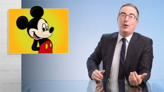 John Oliver Told A Profane Mickey Mouse Joke For The Books While Leading Into His Deep Dive On Ambulances