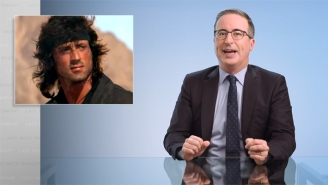 John Oliver Uses A Stallone Movie To Explain Why The U.S.-Afghanistan Debacle Was Destined To Be A Disaster