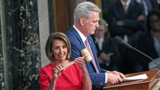 GOP Leader Kevin McCarthy Sparked Backlash By 'Joking' About Hitting Nancy Pelosi In The Head With A Gavel