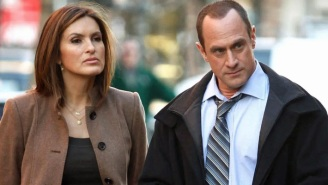 Christopher Meloni And Mariska Hargitay Are Driving 'SVU' Fans Nuts With Their Kissy Faces