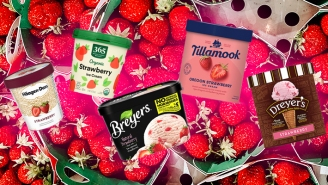 Grocery Store Strawberry Ice Creams, Blind Tasted And Power Ranked
