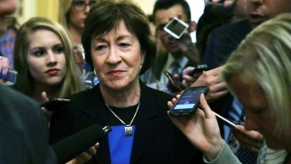 Susan Collins Got Torched For Calling The Jan. 6 Commission 'Partisan' And Trying To Defend Jim Jordan