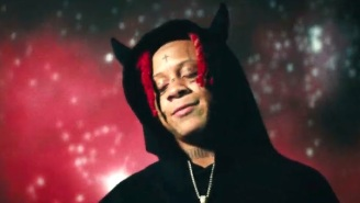 Trippie Redd Burns Rubber Under The Night Sky In His Video For 'Supernatural'