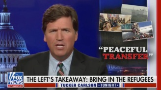 Tucker Carlson Wasted No Time In Stoking Fear Over America Being 'Invaded' By Afghan Refugees: 'Probably In Your Neighborhood'