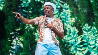 Tyler The Creator Had A NSFW Message For A Fan Who Filmed Him Driving On The Highway