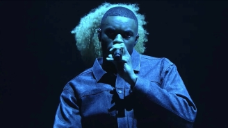 Vince Staples Gives A Somber 'Tonight Show' Performance Of 'Take Me Home' With Fousheé