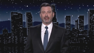 Jimmy Kimmel Is Back From Vacay And Can't Believe Anti-Vaxxers Started Taking Horse Meds While He Was Away