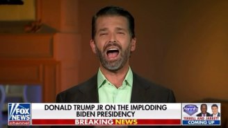 Don Jr. Thinks The Taliban Was Blown Away By His Dad's 'Brainpower' And 'Strength'