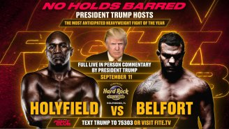 Always-Classy Donald Trump And Don Jr Will Spend 9/11 Offering Color Commentary During An Evander Holyfield Fight, For Some Reason