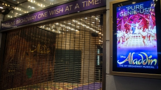 Broadway's Production Of 'Aladdin' Shut Down Due To A COVID Outbreak Just One Day After Reopening