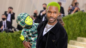 Frank Ocean Has Reportedly Been 'Shopping A New Album' At Several Record Labels