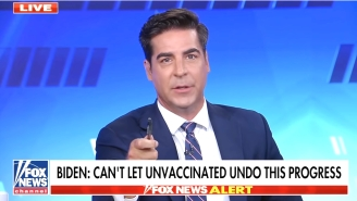 Fox News' Jesse Watters Has A Bonkers Theory About Biden's New Vaccine Mandate: 'He's An Angry Man' Who's 'Taking That Anger Out On The Unvaxxed'