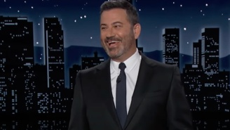 Jimmy Kimmel Is So Amused That 'Mouth Rushmore' Trump Still Won't Concede Despite His Arizona Vote Audit's Spectacular Fail