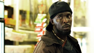 The Ravens Paid Tribute To Michael K. Williams By Running Out To Omar's Whistle From 'The Wire'