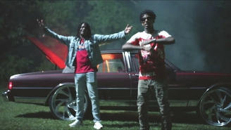 Young Nudy And 21 Savage Assert Their Dominance In The Haunting 'Child's Play' Video