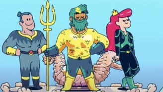 The Trailer For The Animated 'Aquaman: King Of Atlantis' Makes It Look Far Sillier Than The Movies