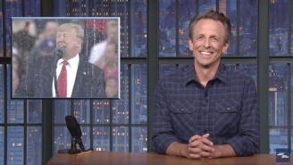 Seth Meyers Had A Field Day With Trump's Claim That Losing Confederate General Robert E. Lee Would Have Won The War In Afghanistan
