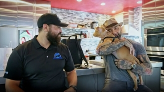 After Seeking Out The Person Responsible For Viral Neglected Dog Story, Dave Bautista Adopts The Rescue Pup And Names Her Penny