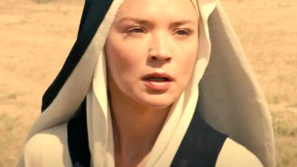 Paul Verhoeven's 'Benedetta' Trailer Has Lesbian Nuns, Snakes, And A Plea To Jesus