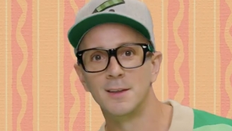 The Entire Internet Has Feelings About A New Video From Original 'Blue's Clues' Host Steve Burns