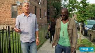 Remembering The Time Michael K. Williams Took Anthony Bourdain To Eat Caribbean Food In Brooklyn