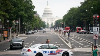 A Rally In Support Of The Jan. 6 Rioters Drew So Few People That They Were Outnumbered By Law Enforcement And Reporters