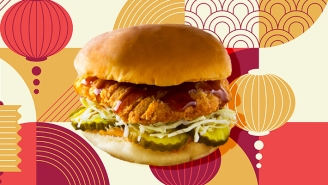 Panda Express Has A New Orange Chicken Sandwich — Here's Our Review
