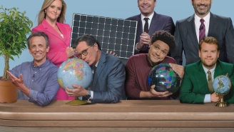 All Of The Major Network Late Night Hosts Banded Together Last Night To Highlight Climate Change