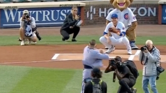 Conor McGregor Submitted His Case For The Worst First Pitch In Baseball History