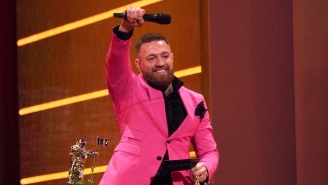 Conor McGregor Denies Trying To Fight 'Vanilla White Rapper' Machine Gun Kelly At The VMAs