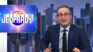 John Oliver Isn't Impressed With How 'Jeopardy!' Is Mopping Up Its Hosting Fiasco