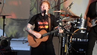 Ed Sheeran Helps Celebrate The New NFL Season With A Performance Of 'Shivers'