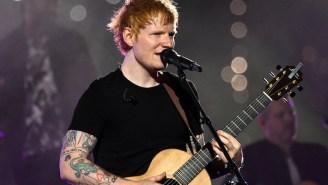 Ed Sheeran Thinks American Award Shows Like The VMAS Have 'A Really Horrible Atmosphere'
