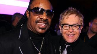 Elton John And Stevie Wonder Share A Gospel-Inspired Collab, 'Finish Line'