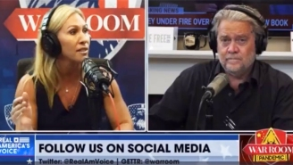 'Even Bannon' Began Trending After Steve Bannon Appeared To Side-Eye A Particularly Egregious Marjorie Taylor Greene Lie On The War Room Podcast
