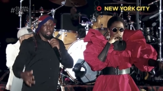 Global Citizen Shares Fugees' Reunion Performance Of 'Ready Or Not'