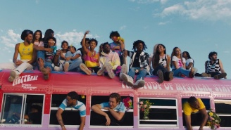 Jaden's 'Summer' Video Features A Rainbow Bus And 'Summer Of Love' Vibes