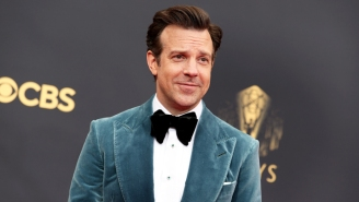 Jason Sudeikis Roasted The Heck Out Of Lorne Michaels While Accepting His 'Ted Lasso' Acting Emmy